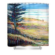 Home From The Sea Shower Curtain
