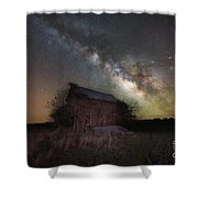 Home Grown Milky Way  Shower Curtain
