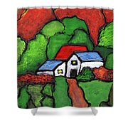 Home In The Country Shower Curtain