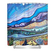 Home In The Hills Shower Curtain