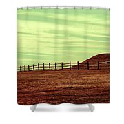 Home Is Never Far Shower Curtain