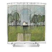 Home Is Shower Curtain
