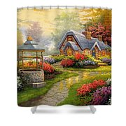 Home Is Where You Find Real Love Shower Curtain