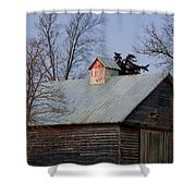 Home Of The Farm Cats Shower Curtain
