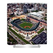Home Of The Orioles - Camden Yards Shower Curtain