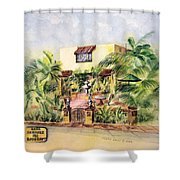 Home On Belmont Shore Shower Curtain