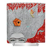 Home On My Mind Shower Curtain