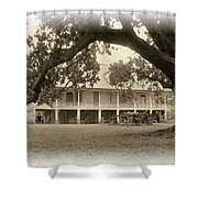 Home Place Impressions Shower Curtain