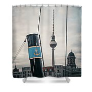 Home Port Berlin Shower Curtain