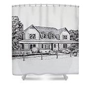 Summer Villa 2015 Shower Curtain