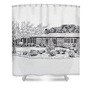 Home Portrait 2040 Shower Curtain