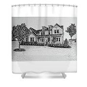 Home Portrait 472017 Shower Curtain