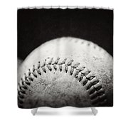 Home Run Ball II  Shower Curtain