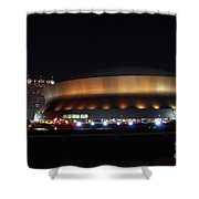 Home Sweet Dome Shower Curtain