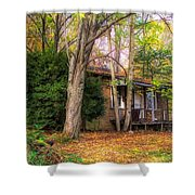 Home Sweet Home 1945 Shower Curtain