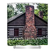 Home Sweet Home Shower Curtain by Joann Copeland-Paul