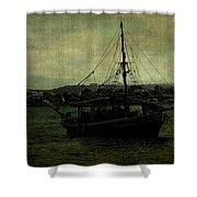 Homecoming Pirate Shower Curtain