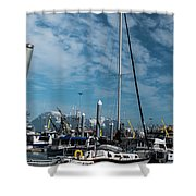Homer Alaska Shower Curtain