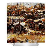 Homes In The Hills  Chaves Revine Shower Curtain