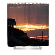 Homes Of Sea Bright  Shower Curtain