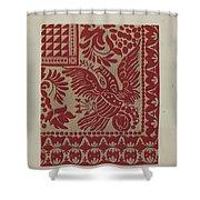 Homespun Coverlet Shower Curtain