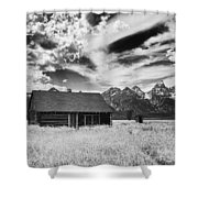 Homestead Mormon Row Shower Curtain