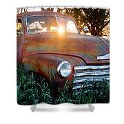 Homestead Truck Shower Curtain