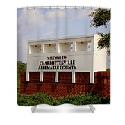 Hometown Series - A Warm Welcome Shower Curtain