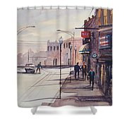 Hometown Shadows Shower Curtain