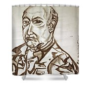 Homme Militaire Shower Curtain