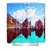 Honah Lee Shower Curtain