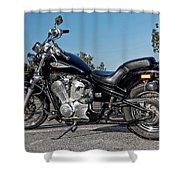 Honda Shadow Shower Curtain