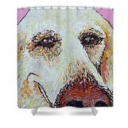 Honey Love Shower Curtain