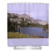 Honeymoon Lake Shower Curtain