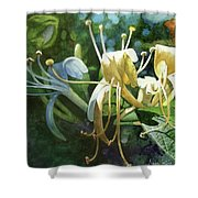 Honeysuckle Sun Shower Curtain