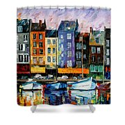 Honfleur - Normandie Shower Curtain