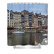 Honfleur - France Shower Curtain