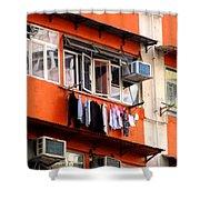 Hong Kong Apartment 12 Shower Curtain