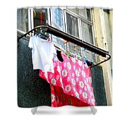 Hong Kong Apartment 13 Shower Curtain