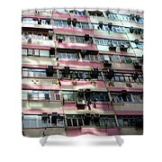 Hong Kong Apartment 18 Shower Curtain