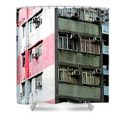 Hong Kong Apartment 3 Shower Curtain