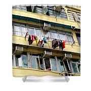 Hong Kong Apartment 7 Shower Curtain