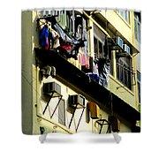 Hong Kong Apartment 8 Shower Curtain