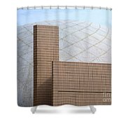 Hong Kong Architecture 13 Shower Curtain