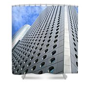 Hong Kong Architecture 38 Shower Curtain