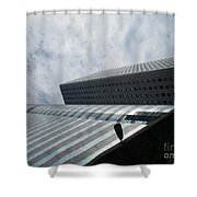 Hong Kong Architecture 39 Shower Curtain