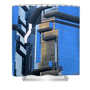 Hong Kong Architecture 40 Shower Curtain