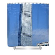 Hong Kong Architecture 45 Shower Curtain