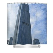 Hong Kong Architecture 48 Shower Curtain