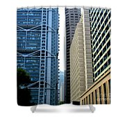 Hong Kong Architecture 49 Shower Curtain